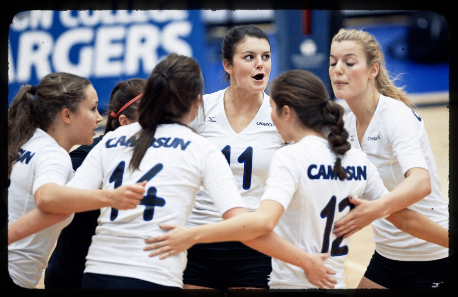 Camosun College Chargers Volleyball -
