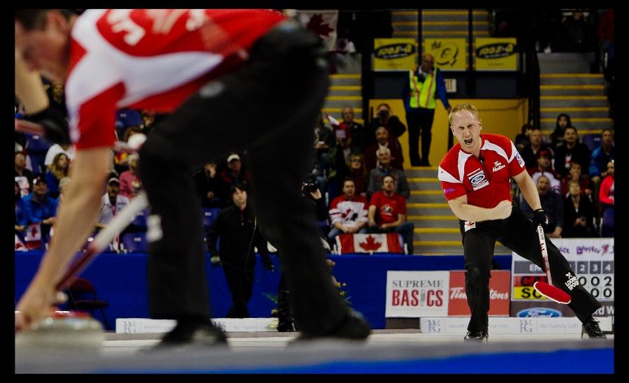 Team Canada Skip Brad Jacobs