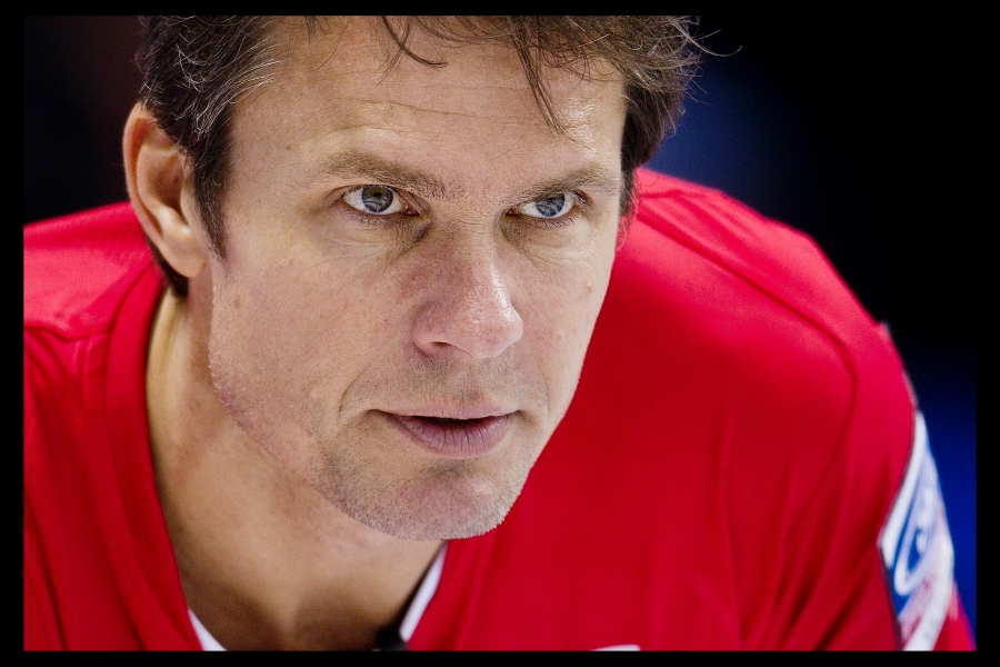 Norway curling Skip Thomas Ulsrud