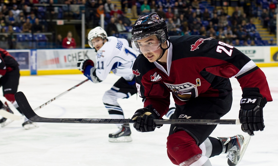Jackson Houck 27 right wing Vancouver Giants