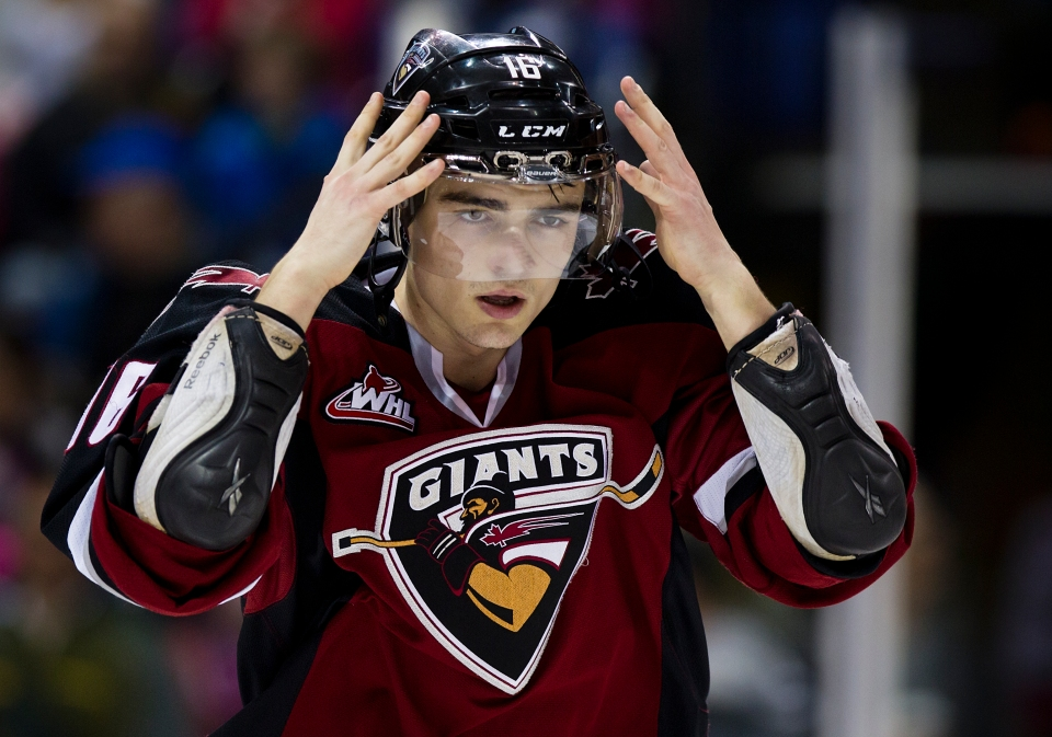 Thomas Foster 16 centre Vancouver Giants