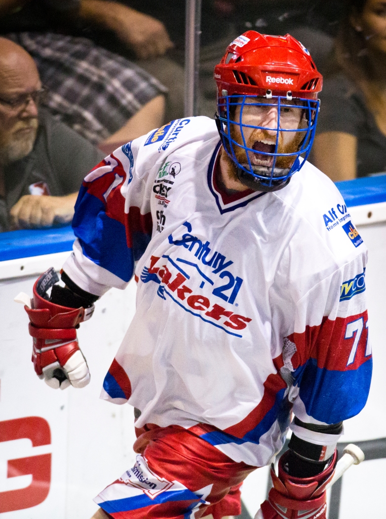 In game four is was Laker Curtis Dickson who led the way scoring four goals en route to a decisive 8-6 victory for Peterborough. It was the third year in a row Victoria has held a 2-1 series lead in the Mann Cup but failed to win game four.