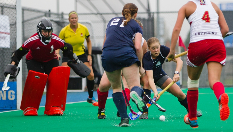 CIS Field Hockey Natinals Women Uvic vs Guelph Nov 7, 2015 ©Kevin Light Photo _V0C0283