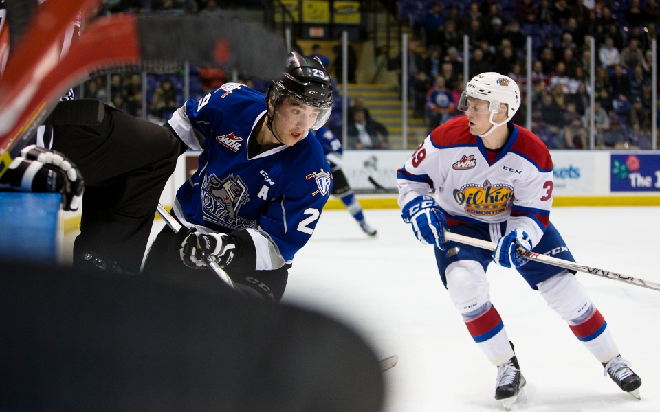 Victoria Royals vs Edmonton OIl Kings WHL Hockey Nov 18, 2015 ©Kevin Light _31Q4014