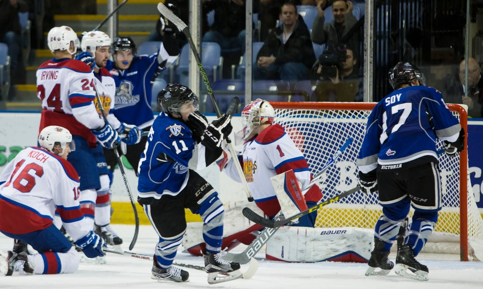 Victoria Royals vs Edmonton OIl Kings WHL Hockey Nov 18, 2015 ©Kevin Light _31Q4835