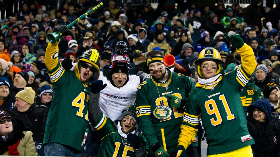 0014 Grey Cup 2015 Winnipeg Edmonton Eskimos Ottawa RedBlacks Kevin Light Photo