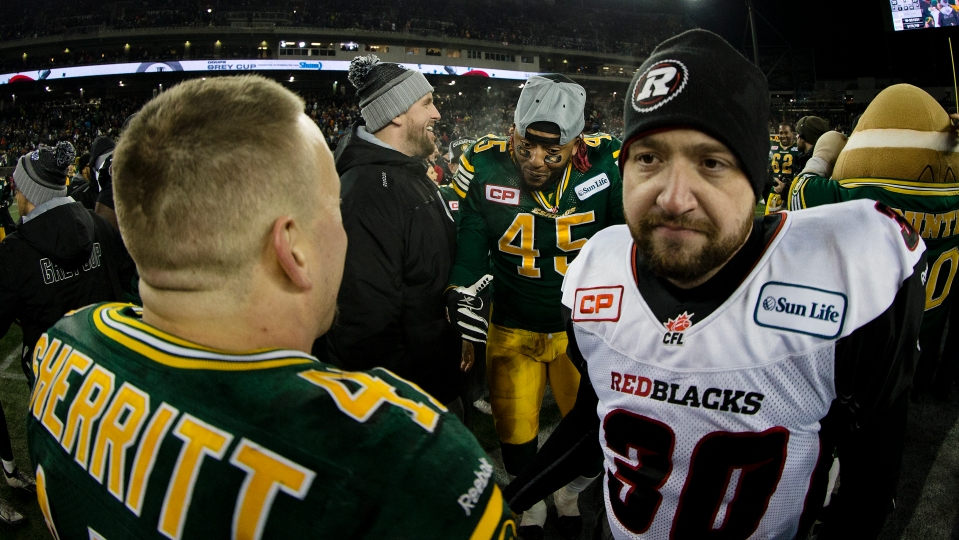 0020 Grey Cup 2015 Winnipeg Edmonton Eskimos Ottawa RedBlacks Kevin Light Photo
