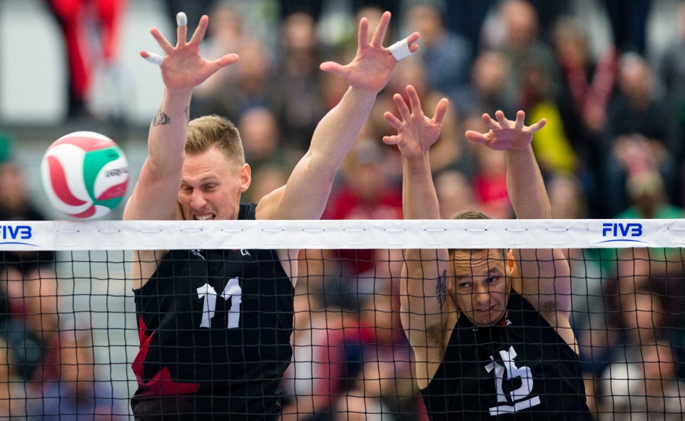 0009 Men Volleyball NORCECA Continental Olympic Qualification Tournament Edmonton January 10, 2016 ©KevinLightPhoto ©KevinLightPhoto _31Q2208