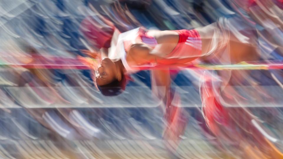 high jump athlete olympics  Photo © Kevin Light 0025