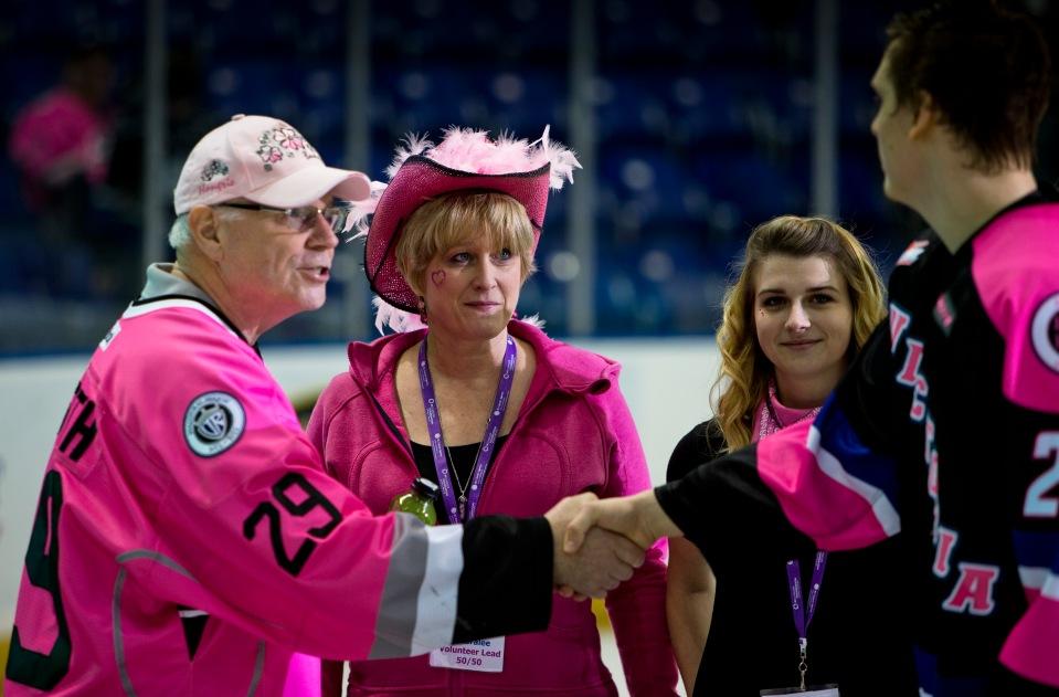 20 Victoria Royals vs Kamloops Blazers PINK Feb 20, 2016 ©KevinLightPhoto_31Q7929