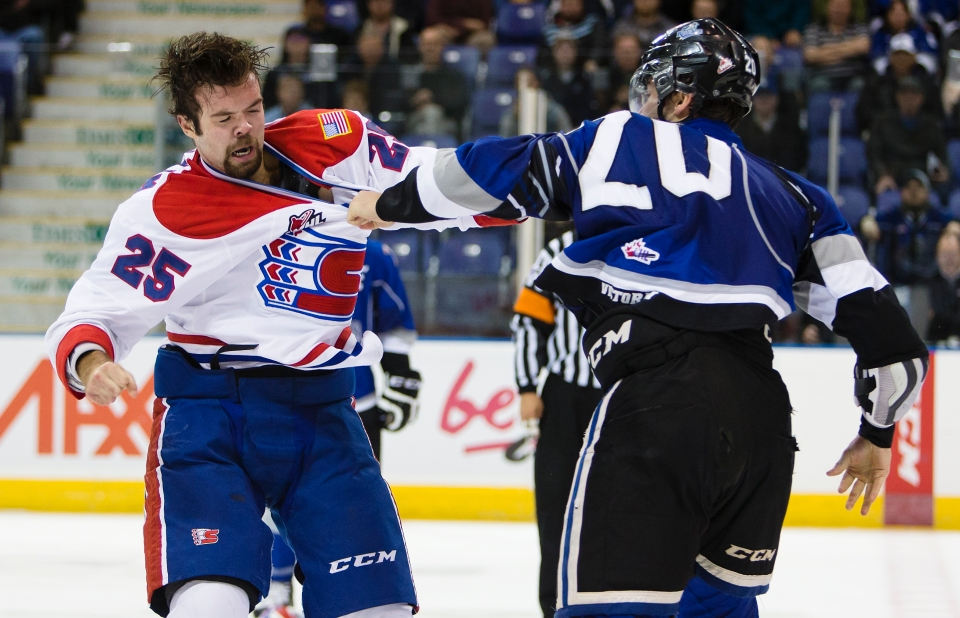 0086 0007 Victoria Royals vs Spokane Chiefs Oct 6, 2015 ©KevinLIghtPhoto 0096