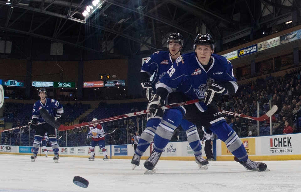 0101 0022 Victoria Royals vs Edmonton OIl Kings WHL Hockey Nov 18, 2015 ©Kevin Light _MG_0082