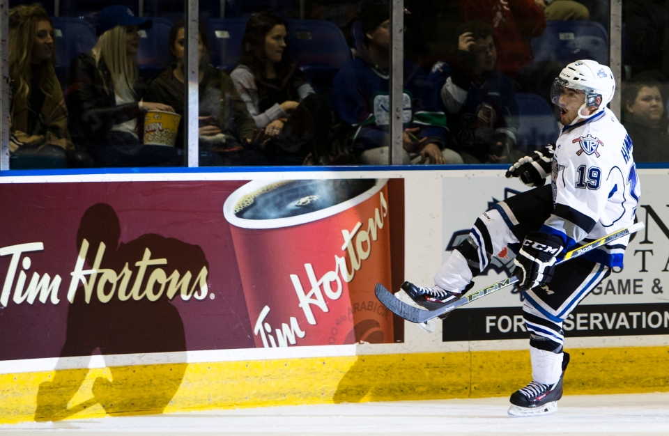 Victoria Royals beat the Medicine Hat Tigers 8-2