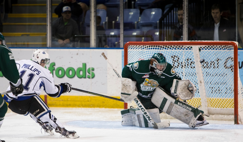 Victoria Royals beat the Everett Silvertips 6-2.