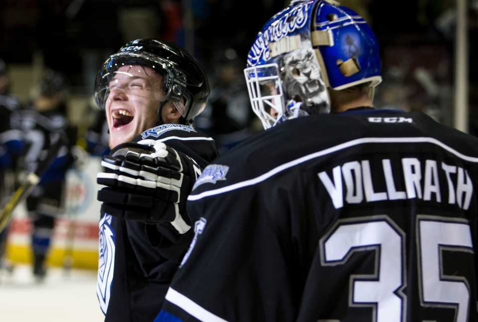 Victoria Royals beat the Prince George Cougars 6-2.