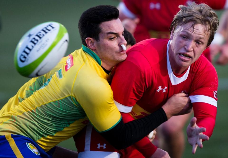 Gradyn Bowd Canada Brazil Daniel Sancery Americas Rugby Championship Kevin Light Photo