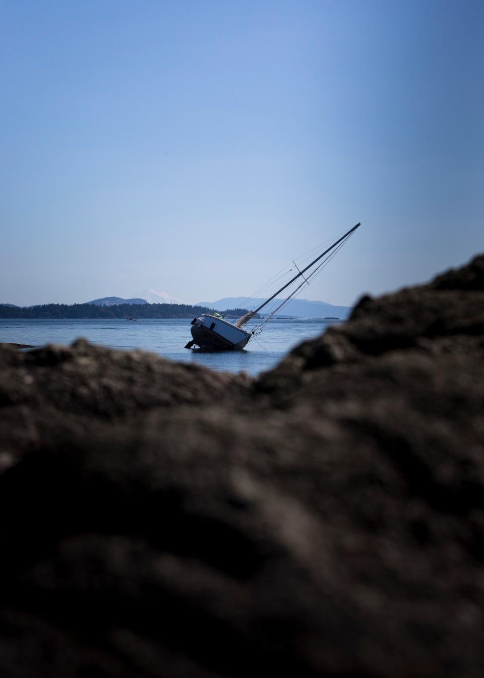 A rocky ride