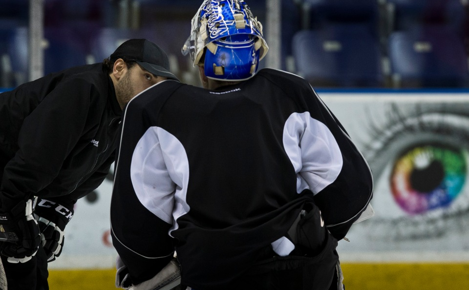 Lynden Sammartino Coleman Vollrath © Kevin Light PhotoVictoria Royals Practice March 10, 2016 ©KevinLightPhoto_31Q5388