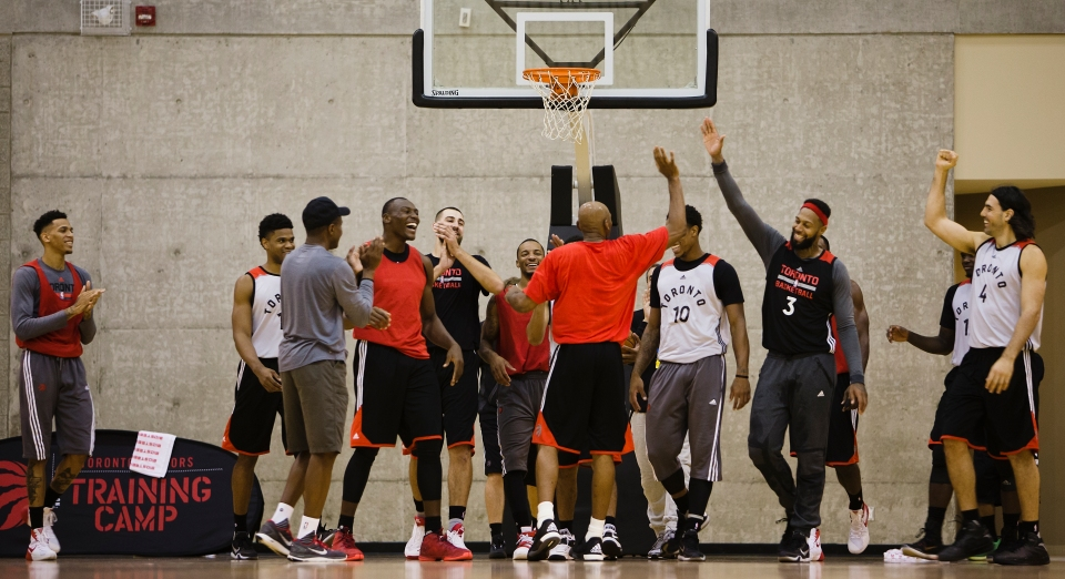 NBA Toronto Raptors Training Camp Vancouver