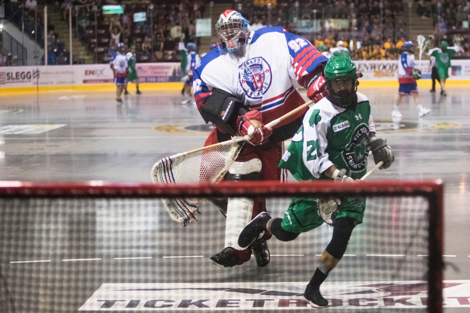 The Victoria Shamrocks play host to the Maple Ridge Burrards