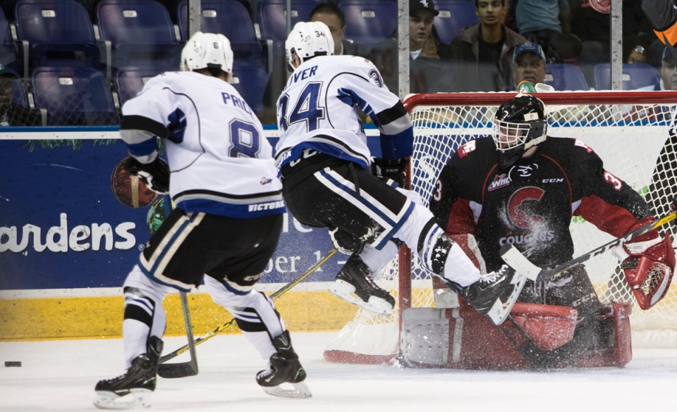 The Prince George Cougars visit Victoria Royals.