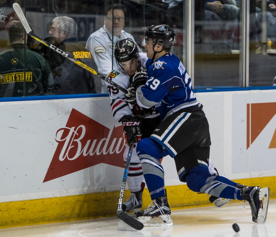 Victoria Royals beat the Portland Winterhawks 5-1
