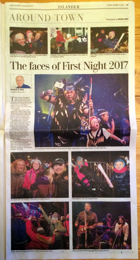times-colonist-around-town-first-night-kevin-light-photo