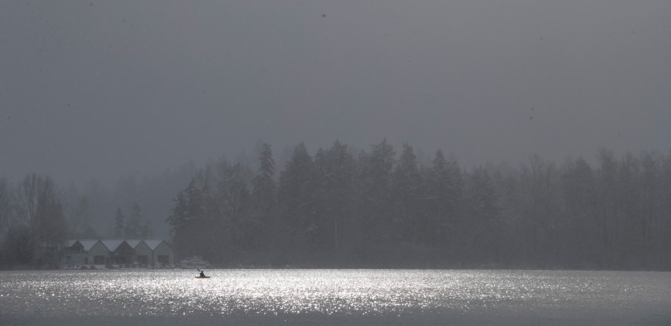 Elk Lake Snow