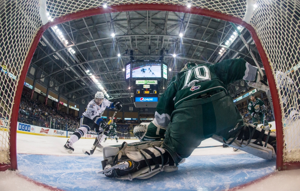 Royals vs Silvertips Game 3 March 28, 2017 Kevin Light 19