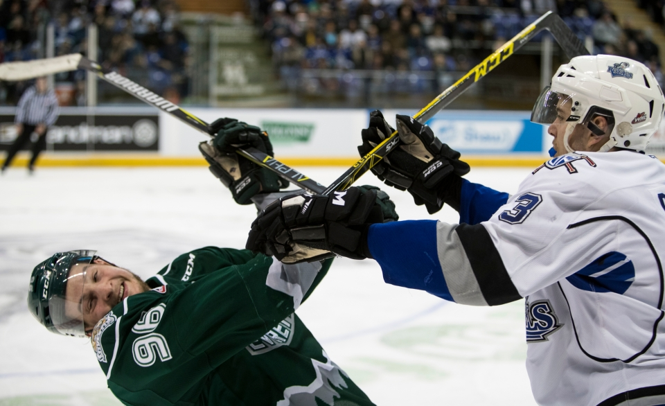 Royals vs Silvertips Game 3 March 28, 2017 Kevin Light 25