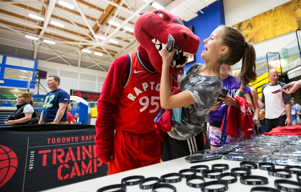 1 Toronto Raptors NBA Basketball Training camp Victoria Canada ©Kevin Light Photo