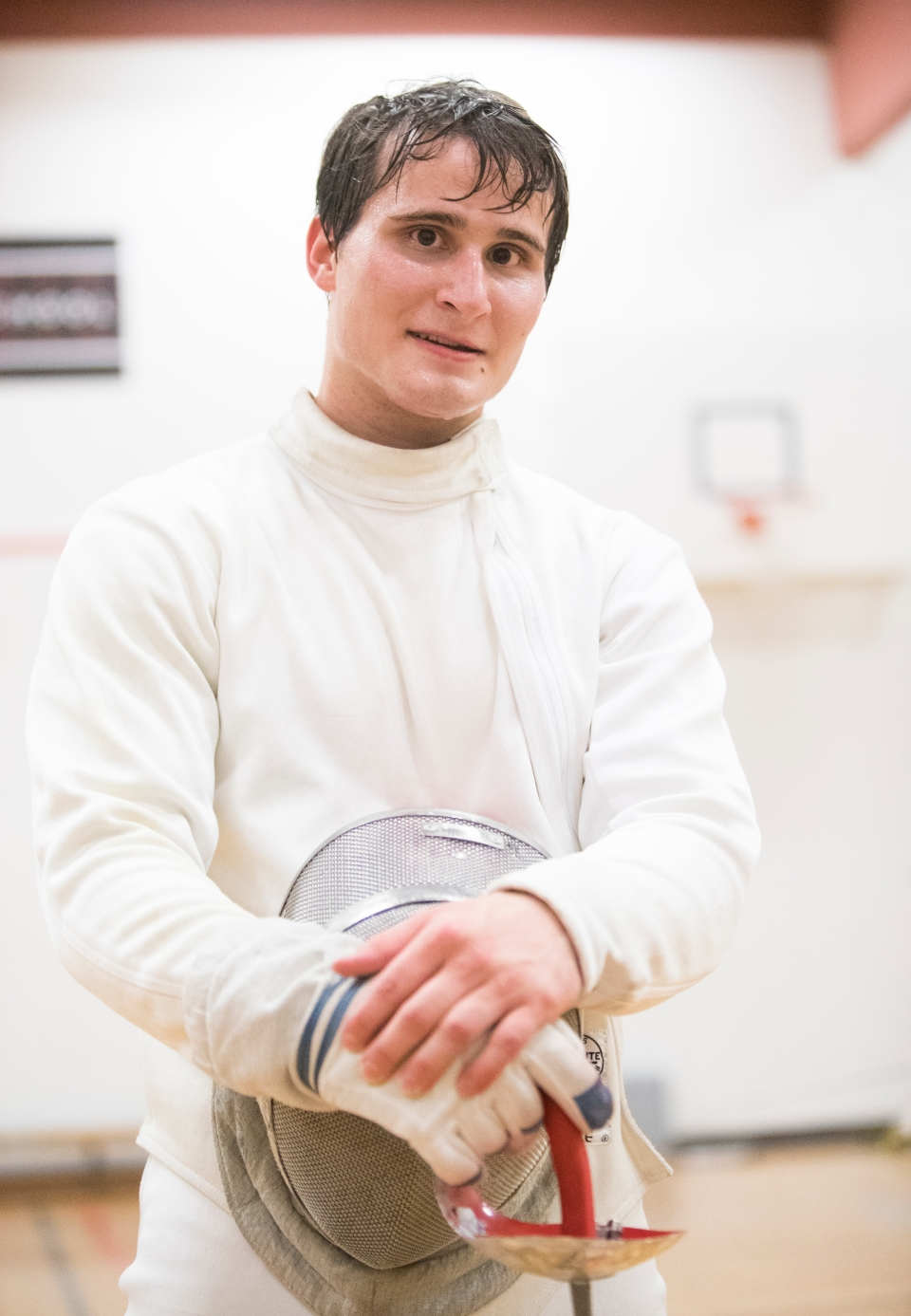 4 Hunter Moricz Zbigniew Pietrusinski Fencing CBC Petro Canada The Bond Kevin Light Photo