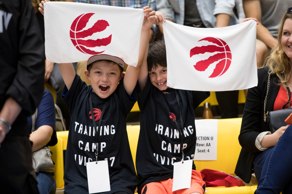 8 Toronto Raptors NBA Basketball Training camp Victoria Canada ©Kevin Light Photo