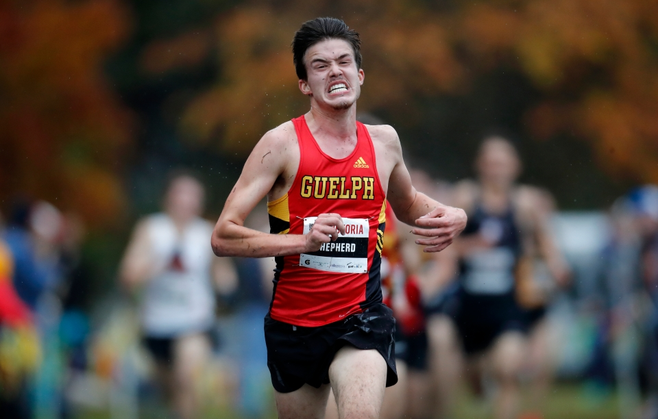 20 Connor Black University of Guelph U SPORTS Cross-Country running Championships ©Kevin Light Photo 20