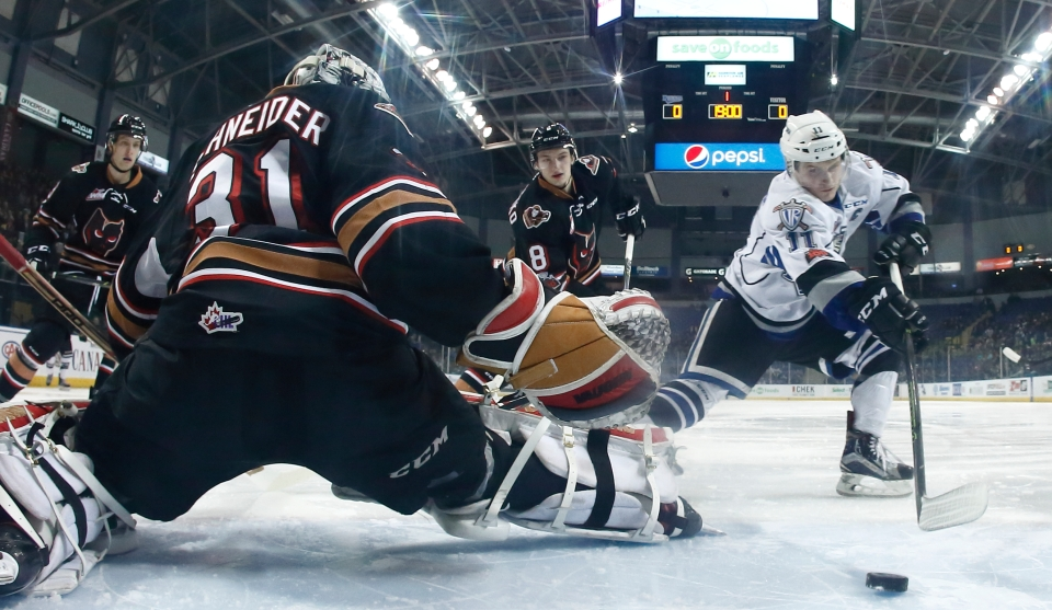 02 Victoria Royals vs Calgary Hitmen January 27, 2018_©KevinLight_LX10642A