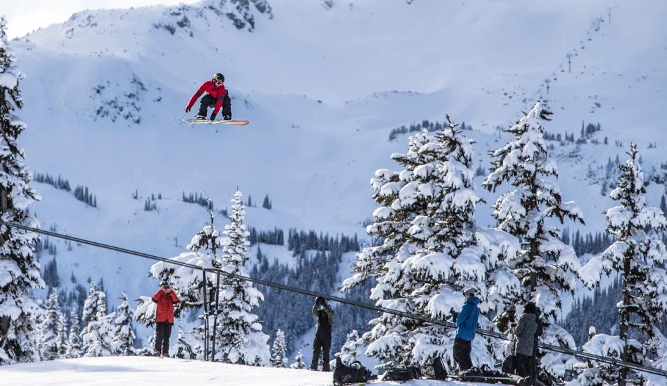 Canadian Olympic Slopestyle snowboarder Tyler Nicholson.JPG ©KevinLightPhoto