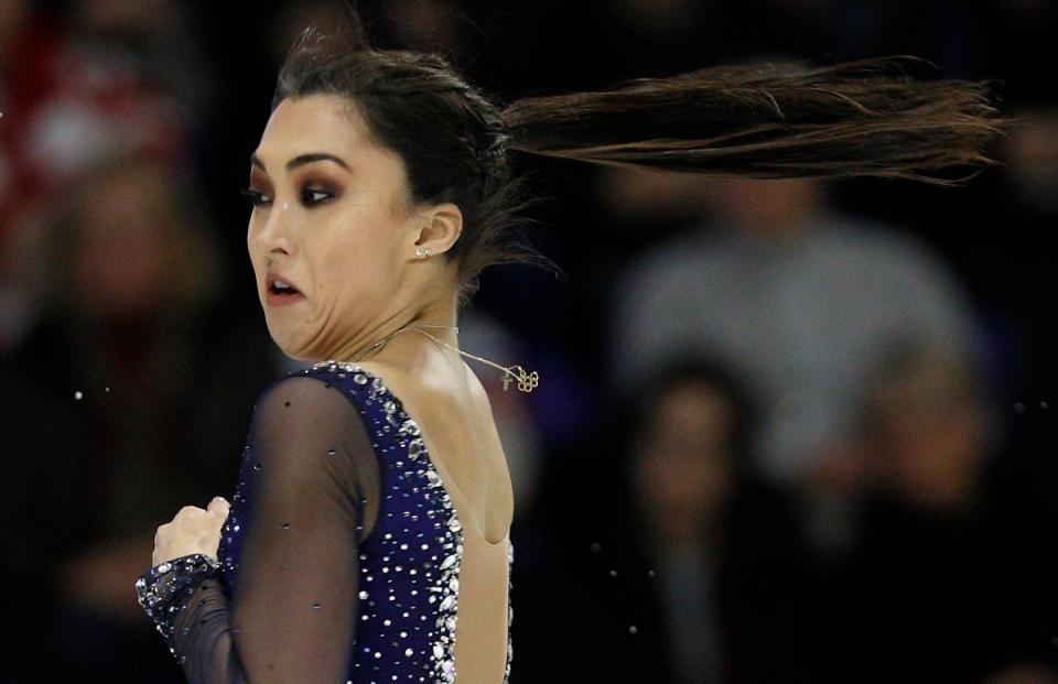 Gabrielle Daleman figure skating spin olympics.JPG ©KevinLightPhoto