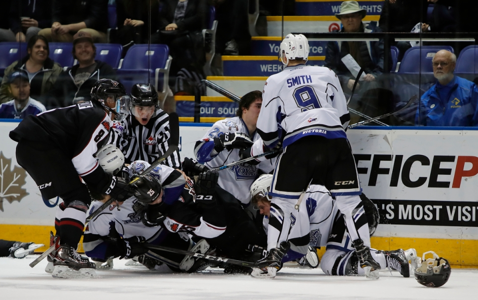 25 Victoria Royals vs Vancouver Giants Playoffs March 24, 2018 ©Kevin_Light_Photo Royals vs Giants March 24, 2018 95 ©KevinLightPhoto _EVL8203A